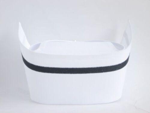 AUTHENTIC NURSE CAP OLD FASHION VINTAGE WHITE COTTON UNIFORM NURSES COSTUME HAT