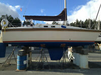 Hunter 25.5 foot sailboat 1/4 share or make an offer for 100%