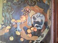 Frame abstract art print