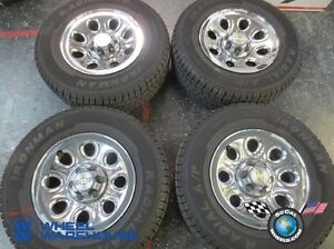 """17"""" wheel tire set for GMC Chevy truck"""