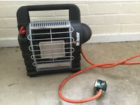 Mr heater gas heater coleman bottles or calor portable camping carp fishing caravan free post