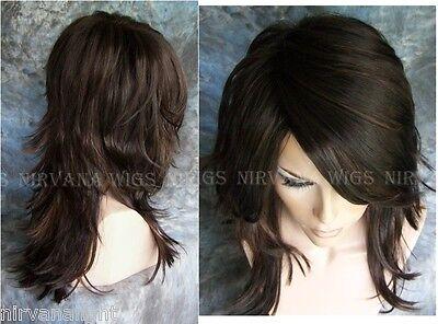 Long Choppy Layers Nirvana Tarah Wig U Choose Colour Black
