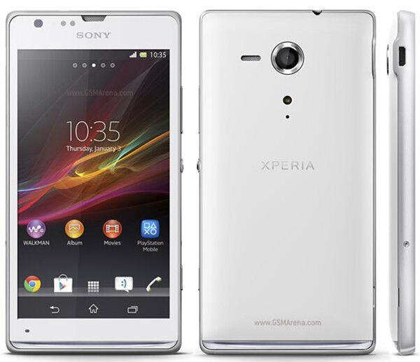 White Unlocked Original Sony XPERIA SP C5303/M35H 8GB Android Smartphone,8MP,4.6