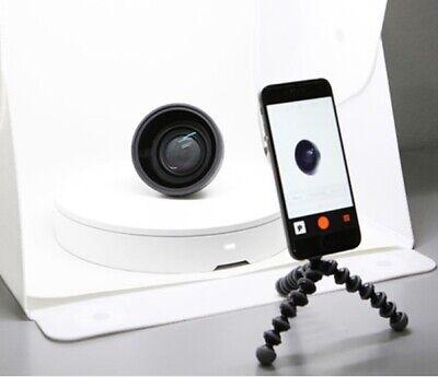 Foldio 360 Smart Turn TableImage Mini Studio Bluetooth IR Halo Edge Light