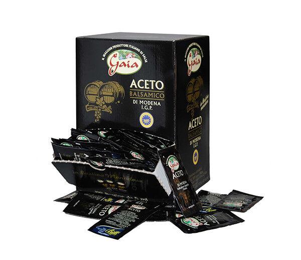Aceto balsamico di Modena IGP 198 bustine 5ml monodose Gaia