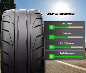 2 X New 255-35-20 NITTO NT05 SEMI SLICK RACE TYRES ! 2553520 Mascot Rockdale Area Preview