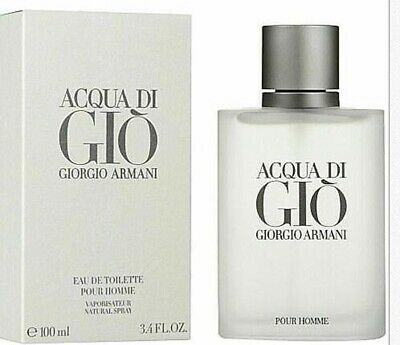 Giorgio Armani Acqua Di Gio 3.4 oz / 100 ml Men's Eau De Toilette NEW & SEALED