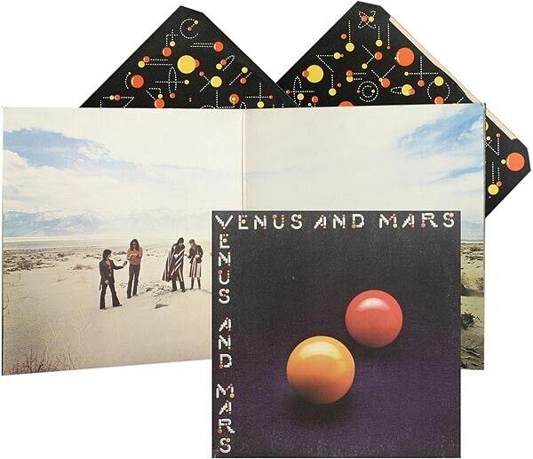 Wings - Venus And Mars NM/EX B5 Vinyl LP - $15.00