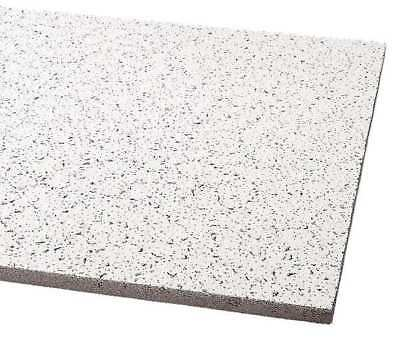 """Acoustical Ceiling Tile 48""""X24"""" Thickness 5/8"""", PK12"""