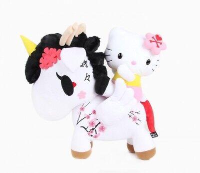 """2014 NEW SANRIO Tokidoki x Hello Kitty Kimono Large 20"""" Inch  Plush - Sakura"""