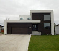 One of a kind modern home just a short drive from Winnipeg