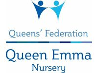Nursery Assistant (Maternity Cover in the first instance)
