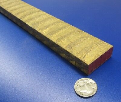 954 Bronze Oversize Flat Bar 12 Thick X 1 12 Wide X 24.0 Length