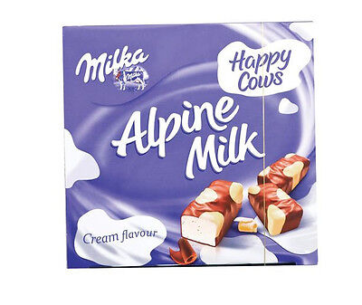 MILKA HAPPY COWS Cream Flavor Pralines Chocolate Covered Marshmallows 350g 12oz
