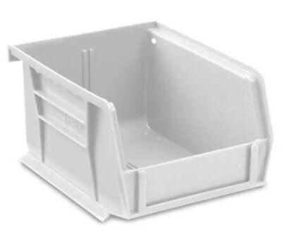 White Stackable Storage Bin 5-12l X 4w X 3h - Lot Of 24 S-12413w