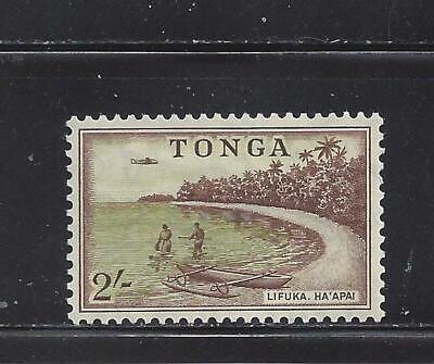 TONGA - 110 - MH - 1953 - BEACH AT LIFUKA, HA'APAI