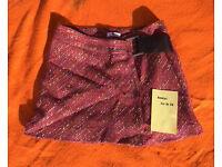Dark Pink Short Skirt size EU 38 / 10