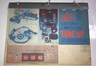 Vtg 1966 1975 Standard Motor Car Truck Ignition Carburetor Tune Up Manual