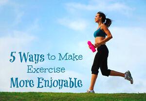 5 Ways to Make Exercise More Enjoyable