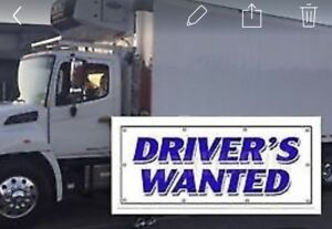 Weekend delivery driver