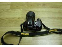 Nikon D3200 SLR Digital Camera - Low Shutter Count(966)