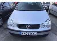VW Polo 1.2 Silver 3-dr 2005 LONG MOT NEW CLUTCH £600