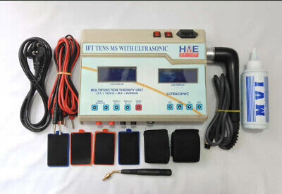 Ifttensms Unit With Ultrasonic Combo Set Digital Ultrasound Therapy Machine