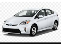 Toyota Prius hire only £120 per week