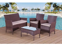 BRAND NEW IN BOX rattan garden furniture set