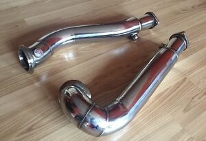 E60 535i n54 Catless Downpipes