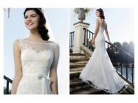 Beautiful unworn with tags (size 10) - Sincerity Bridal wedding dress 3750