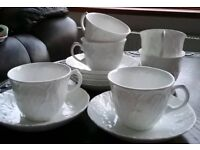 X6 Wedgwood Countryware Cups & Saucers
