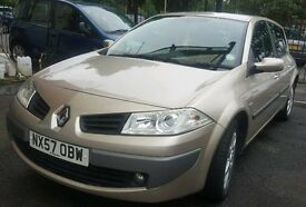 Renault megane 1.6 petrol 100k 10mot Icars