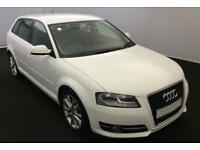 White AUDI A3 SALOON 1.2 1.4 1.6 1.8 2.0 TDI Diesel SPORT FROM £31 PER WEEK!