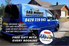 SAB Mobile Safety Certificate Roadworthy / Mobile PrePurchase $89 Brisbane City Brisbane North West Preview