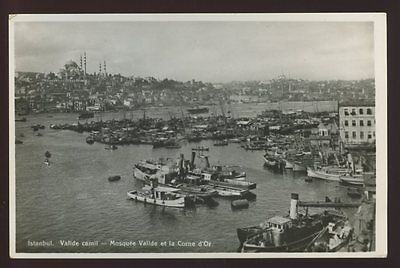 Turkey ISTANBUL Harbour early RP PPC M Ahitouv