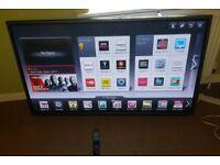 LG 50 inch supper slimline 3D smart led tv