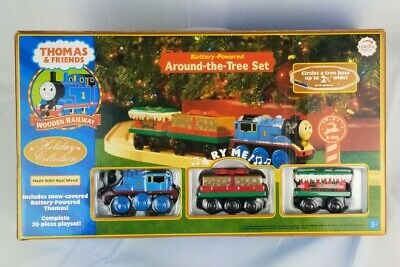 Thomas and Friends Around the Tree Christmas Train Set NEW in Open Box RARE