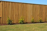 $12 hour cash for student to stain fence on 1-2 properties