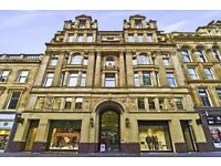 Business centre located in the heart of Glasgow, in Scotland's famous shopping and retail district