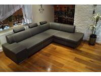 For sale- Corner sofa Bed London 275 x 200 3z right corner Toledo Antrazite