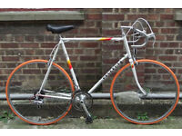 Vintage bike PEUGEOT frame 25in / 64cm - serviced NEW TYRES BRAKE PEDALS CABLES WARRANTY Welcome