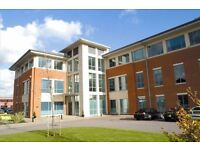 A purpose-built serviced office building, offering fully furnished accommodation.