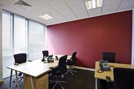 A newly refurbished five-storey office block in Neasden, with panoramic views