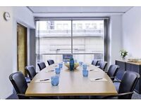 Professionally appointed business centre is housed in a building.