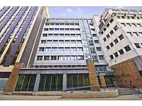 A modern building with modern, prestige high-tech offices.
