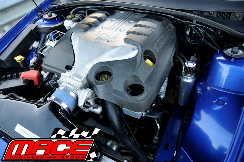 COLD AIR INTAKE KIT FOR HOLDEN COMMODORE VZ ALLOYTEC LY7 LE0 3.6 V6 MACE PERF