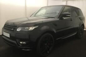LAND ROVER R/R SPORT BLACK SDV8 AUTOBIOGRAPHY DYNAMIC DIESEL FROM £240 PER WEEK!