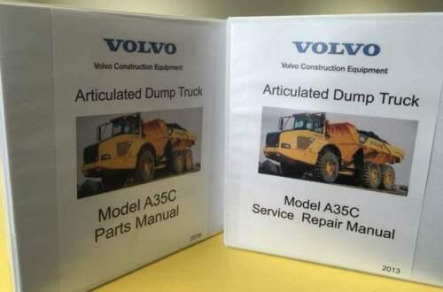 Volvo Model A35C Articulated Dump Truck Manuals