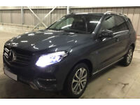 GREY MERCEDES-BENZ GLE 250 350 D 2.1 AMG LINE PREMIUM 4M FROM £147 PER WEEK!
